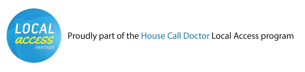 Proudly a part of the House Call Doctor Local Access program
